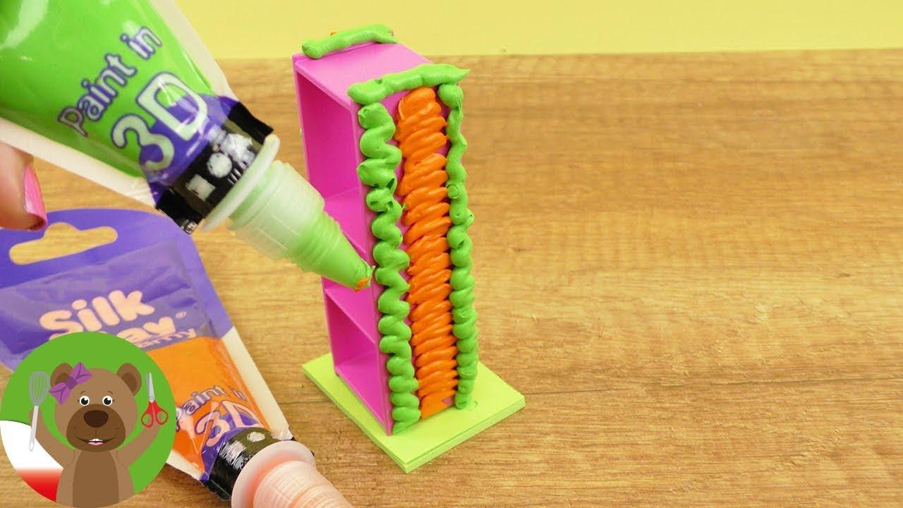 DIY Playmobil | ozdabianie mebli Playmobil masą Silk Clay Creamy