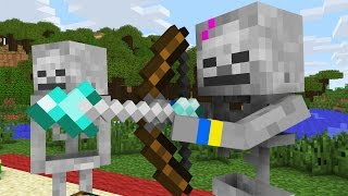 Monster School: Valentine's Day Presents -- Cubic Minecraft Animation