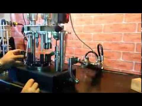 Pressa per ricarica manuale modificata ad automatica for Presse idrauliche usate per officina