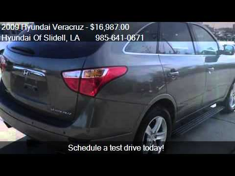 2009 hyundai veracruz limited 4dr wagon for sale in slidell youtube. Black Bedroom Furniture Sets. Home Design Ideas