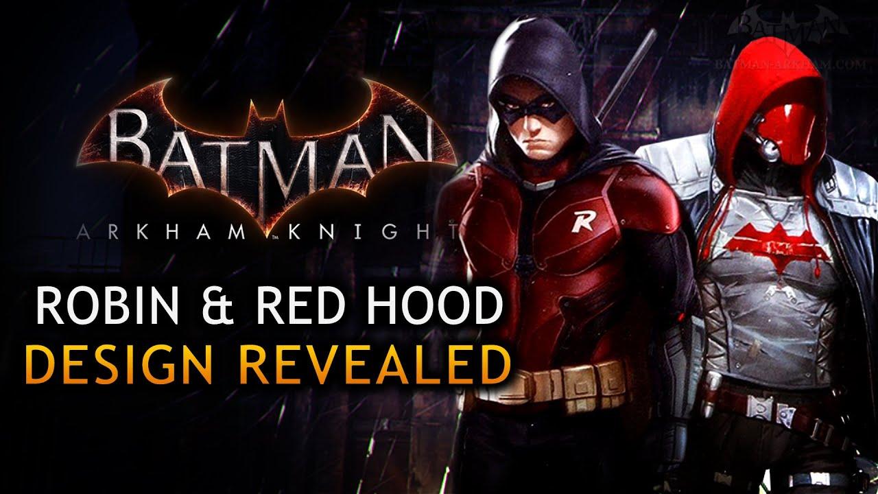 Batman: Arkham Knight - Robin Design Revealed by Mattel ...