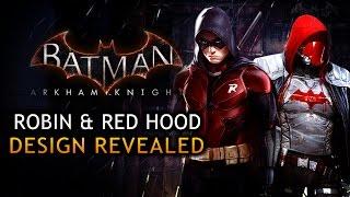 Batman: Arkham Knight - Robin Design Revealed by Mattel