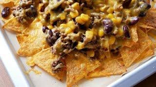 Überbackene Nachos (Rezept) || Baked Nachos (Recipe) || [ENG SUBS]