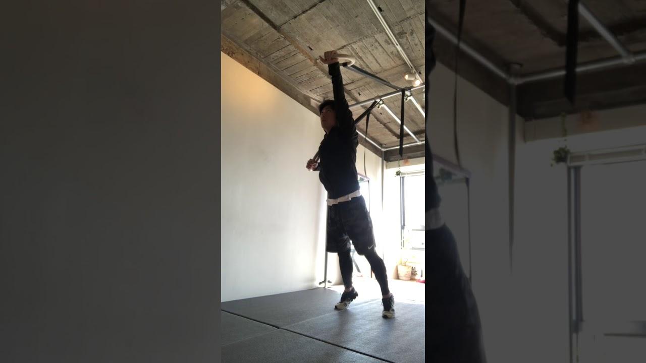 吊り輪トレーニングで消化吸収排泄(内臓機能)のメニュー