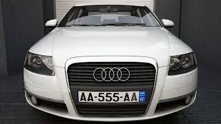 3D Model of Audi A6 2004 Model Review