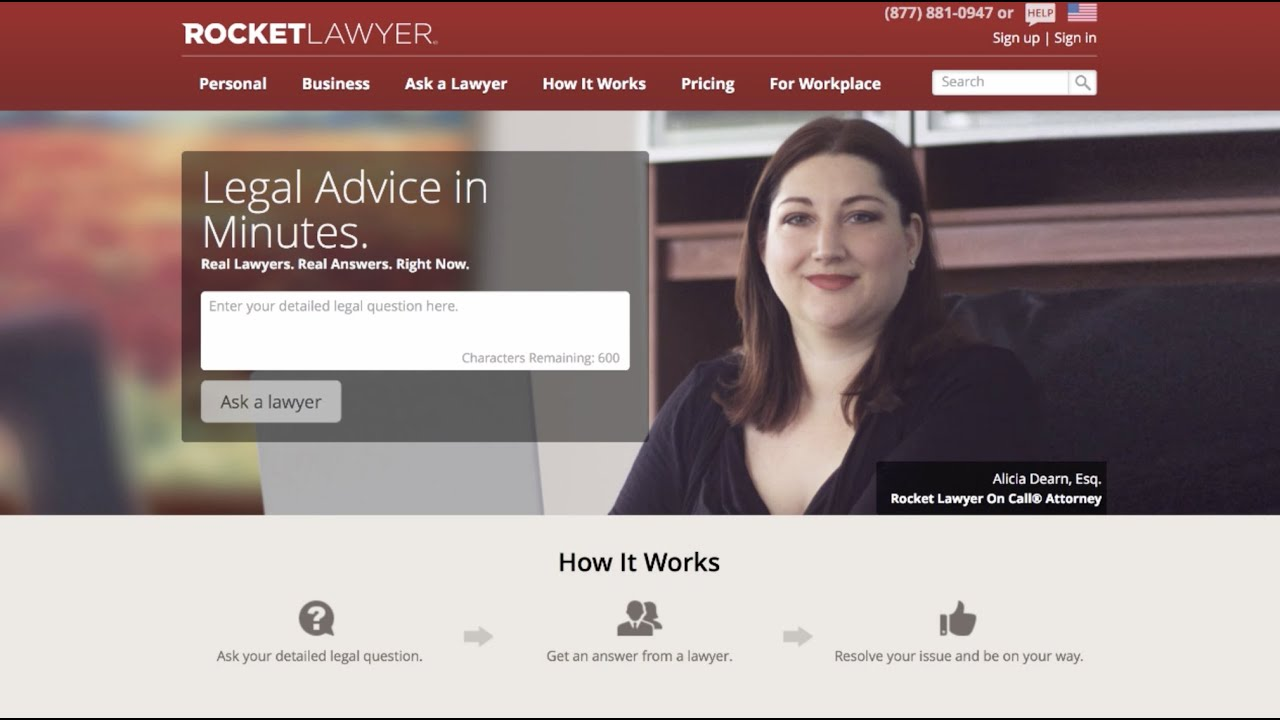 Got Legal Questions? Find the Right Legal Professional with RocketLawyer