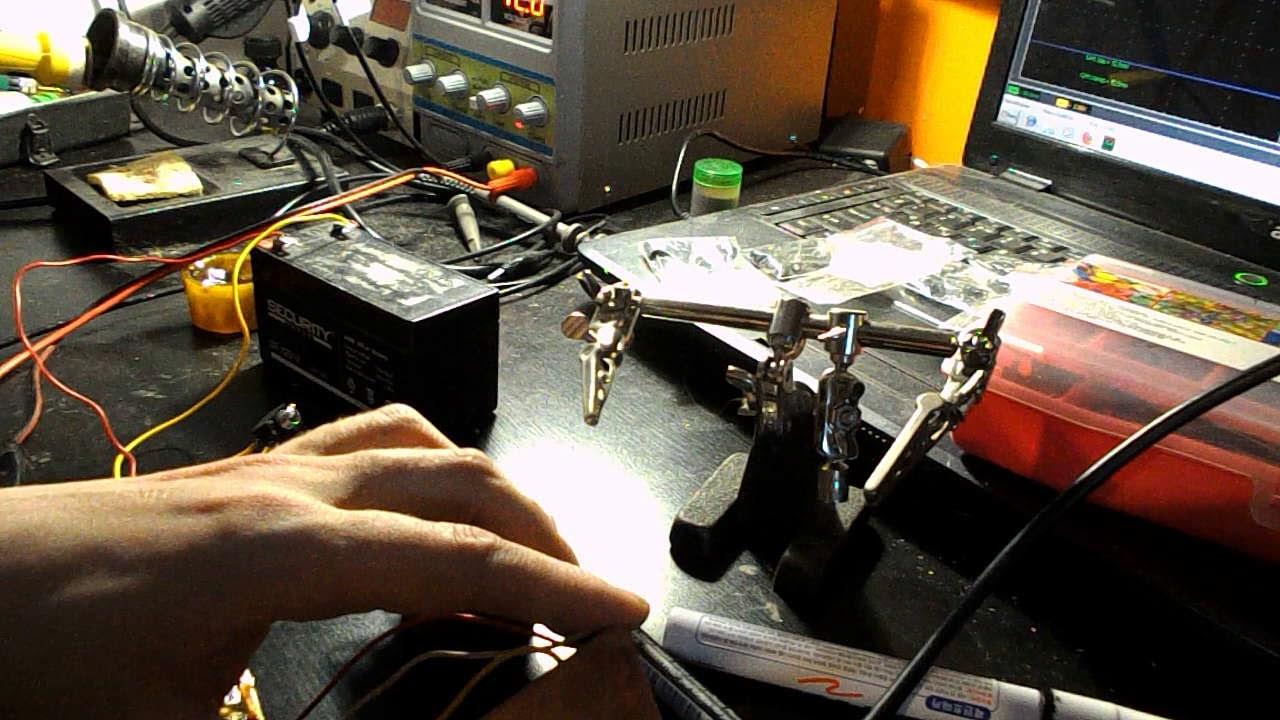 Minima трансивер, первый пуск приемной части.