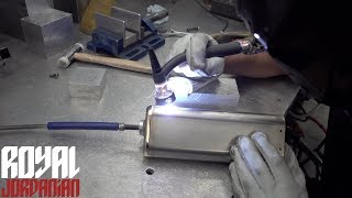 Design and fabrication of a Custom Titanium exhaust system