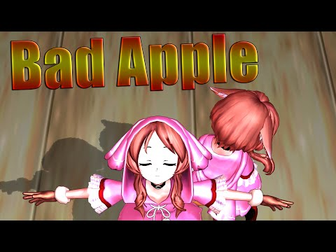 [MMD] Draw the Emotional -「Bad Apple!!」