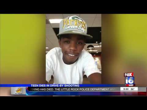 Little Rock Teen Dies After Drive By Shooting   Story  Fox16