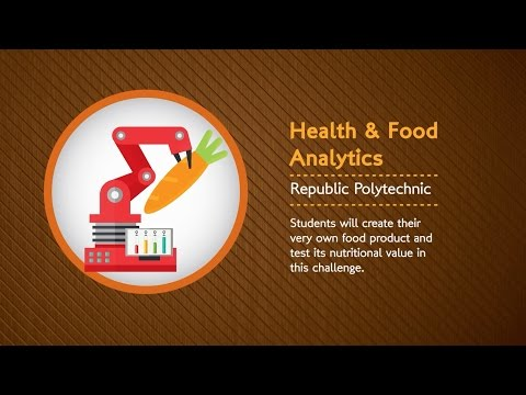 Shell STEM Youth Innovation Challenge 2016 - Health & Food Analytics at Republic Polytechnic