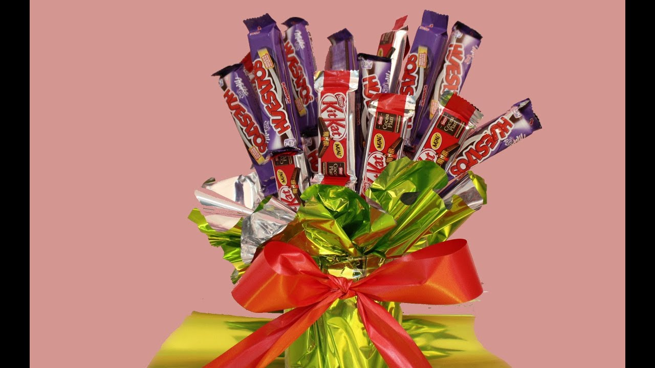 Centros de mesa de chocolatinas para bodas comuniones - Centros de mesas para comuniones ...
