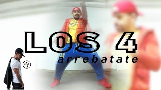 Los 4 - Arrebatate / Salsaton Choreo for Zumba by Jose Sanchez