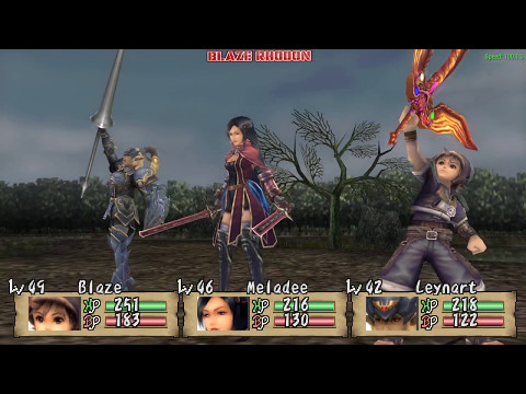 Brave Story: New Traveler (PSP) Walkthrough Part 30 Doing side Quests (fighting with Blue Dragon)