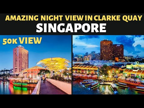 #singapore Singapore clarke quay- Amazing night life at clarke
