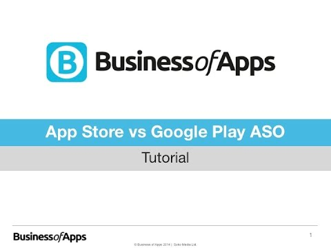 App Store Optimization: Comparing differences between the App Store and Google Play