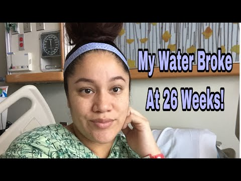 26 Weeks Pregnant & Water Broke | Hospital Bed Rest | PPROM
