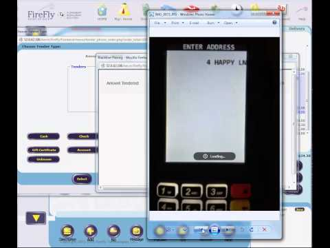 FireFly POS Delivery Order Credit with Mercury EMV