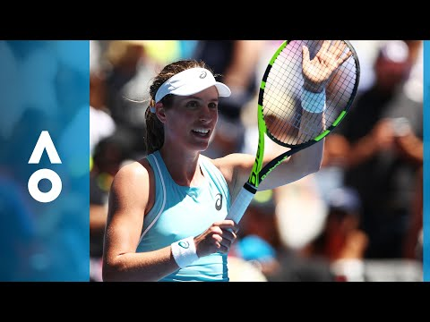 Johanna Konta v Madison Brengle match highlights (1R) | Australian Open 2018