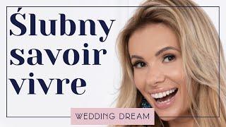 Zapętlaj ZAPROSZENIA ŚLUBNE - ślubny savoir vivre | Wedding Dream - Izabela Janachowska