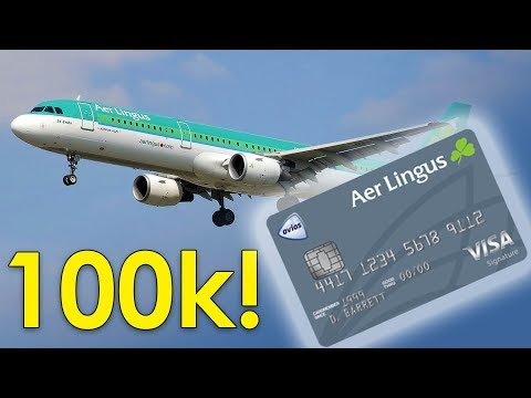 NEW Aer Lingus Visa Offers 100K Sign Up Bonus!