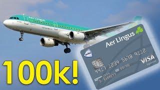 NEW Aer Lingus Visa Offers 100K Sign Up Bonus!