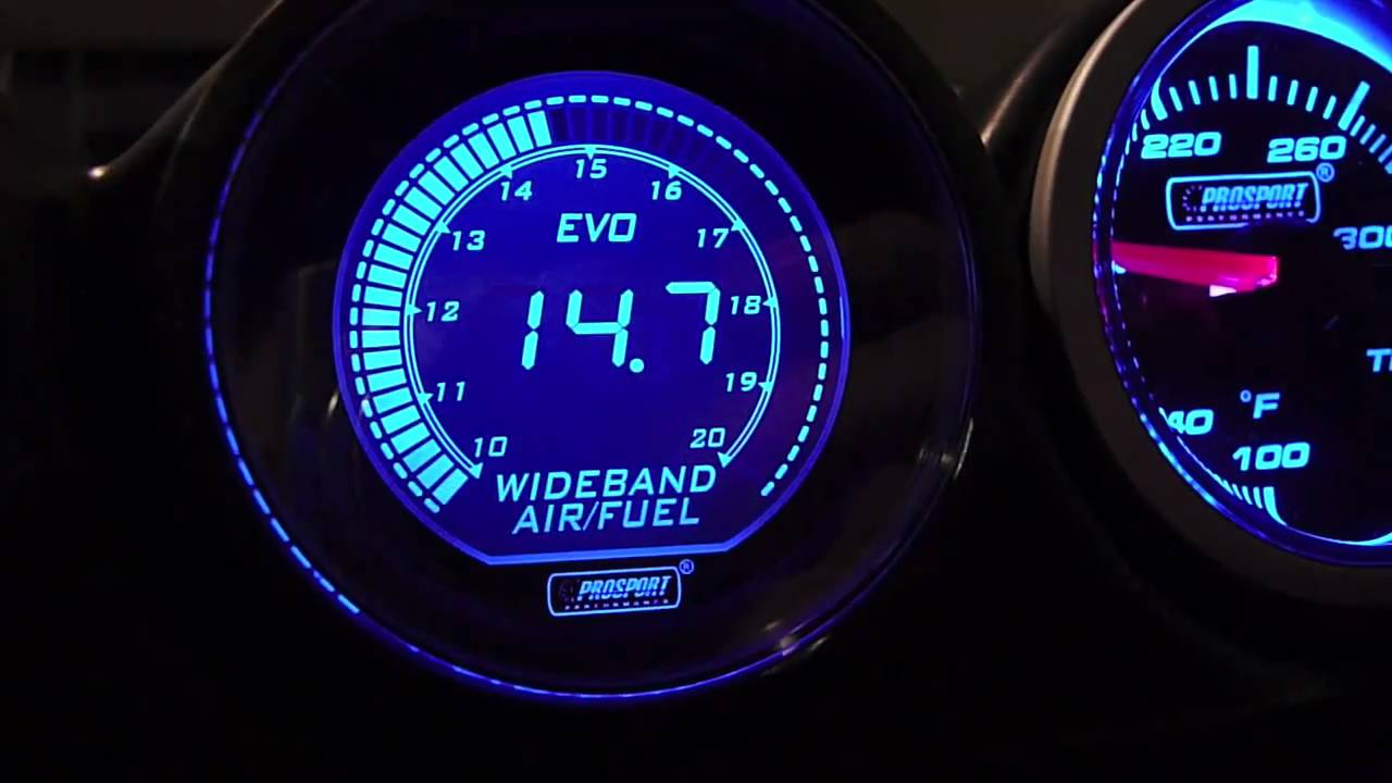 Prosport Evo Wideband Air Fuel Meter Gauge At Mach V Motorsports Wiring Instructions Youtube