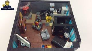 Lego MOC: Apt. #4 of Sig Towers! Lego skyscraper