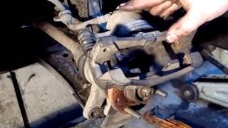 Chevrolet Aveo : Замена передних тормозных дисков и колодок , чем мазать направляющие суппортов !!!(, 2014-12-22T22:11:11.000Z)