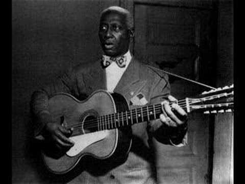 "Roots of Blues -- Lead Belly "" Goodnight Irene"
