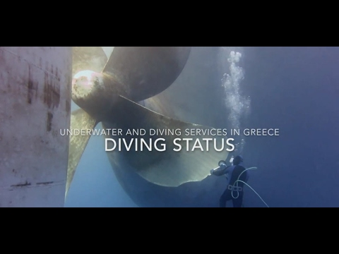 Underwater hull cleaning & propeller polishing | Diving Status | #UnderwaterServices