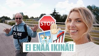ISKÄ (54v) POWERPARKISSA - Ekaa kertaa Junkerissa Video