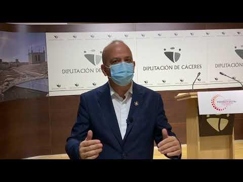 Santos Jorna presenta el Plan Director de Transformación Digital Provincia de Cáceres