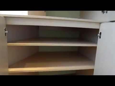 Угловой шкаф на лоджии