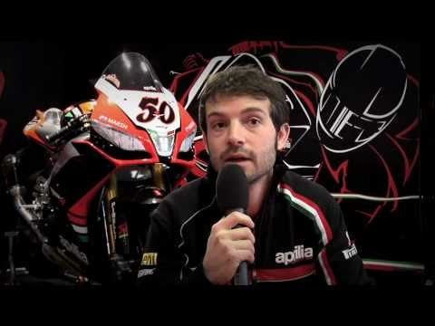 Aprilia Racing Team 2013 presentation - Sylvain Guintoli interview