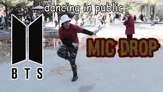 figcaption 【KY】BTS(방탄소년단) — Mic Drop DANCE COVER IN PUBLIC
