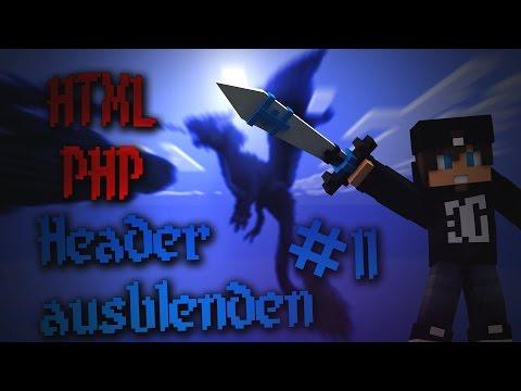 Header Ausblenden #11 | HTML / PHP Coding | Deutsch