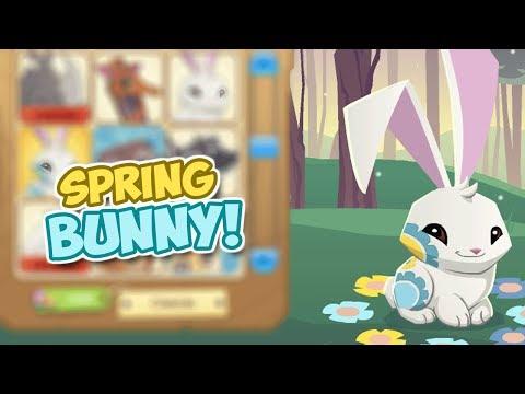 I got a spring bunny<br><iframe title=