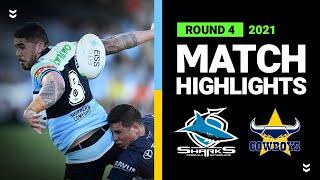 Sharks v Cowboys Match Highlights   Round 4, 2021   Telstra Premiership   NRL
