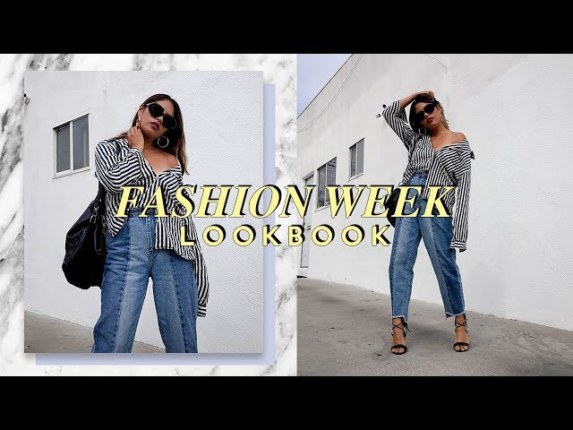 Fashion Week Lookbook 2017 | Street Style Outfits | Luxe and Linen