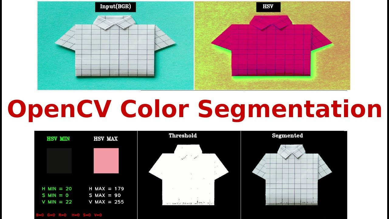 OpenCV Color HSV Segmentation