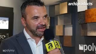Fuorisalone 2018 | POLYREY - Gianluca Piccini presenta le novità