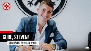 """""""Ich bin sehr aufgeregt"""" I Steven Zuber wechselt zu Eintracht Frankfurt"""
