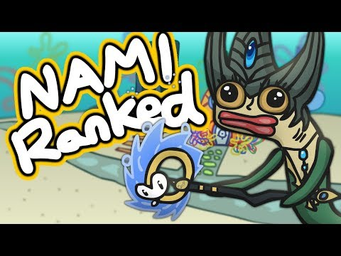 Playing NAMI in Ranked League of Legends