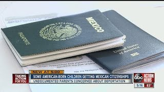 Video Undocumented parents rushing to get their American-born children Mexican citizenships download MP3, 3GP, MP4, WEBM, AVI, FLV Agustus 2017