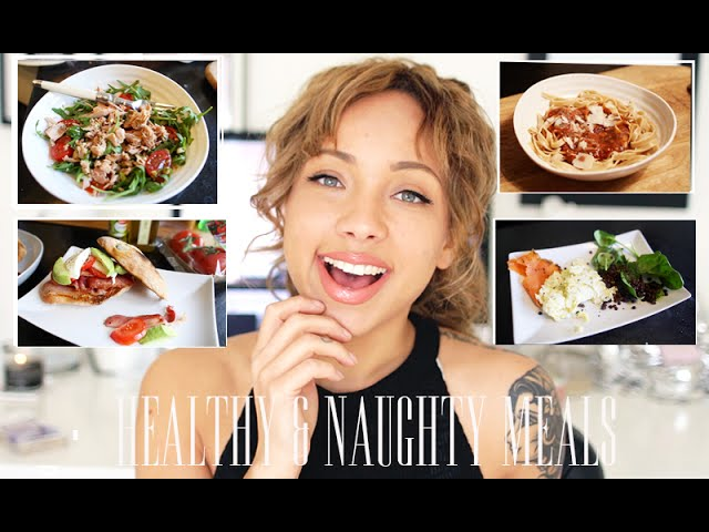 My Naughty & Healthy Meal Recipes Created by Samantha Maria