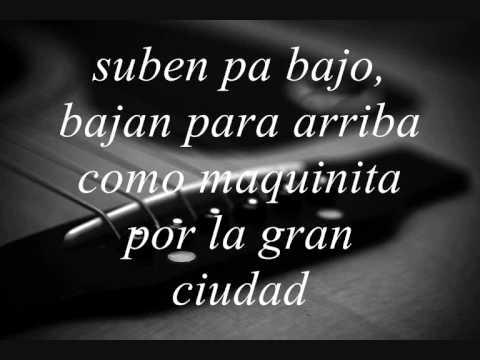 Manu Chao - Me Llaman Calle - lyrics (Princesas)