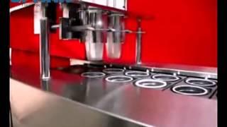 Автоматический розлив и укупор густых продуктов Мед,сметана,соусы, и тд)