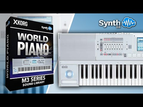World Piano Collection - Synthcloud Library on Korg M3 Series ( Synthonia )