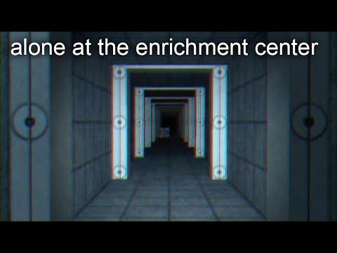 Alone At The Enrichment Center     Elegiac Portal Compilation